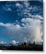 Spring Skies Of The Rogue Valley Metal Print