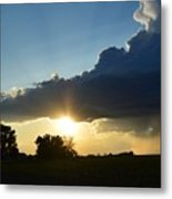 The Sun Always Comes After The Storm Metal Print