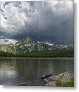 Spring Storm At Anthony Lake Metal Print
