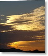 Spring Sunrise One Metal Print