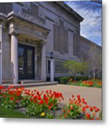 Spring Time At The Muskegon Museum Of Art Metal Print