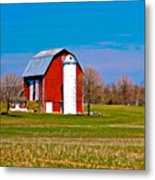 Spring Time On The Farm Metal Print