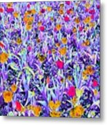 Spring Tulips - Photopower 3124 Metal Print
