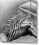 Spring Water Metal Print