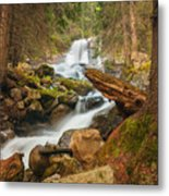 Spring Waterfall Metal Print