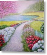 Spring Metal Print by William H RaVell III