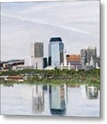 Springfield Reflections Metal Print
