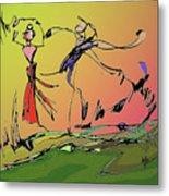 Springtime Dance Nine Metal Print