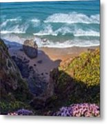 Springtime In Cornwall Metal Print