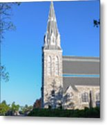 Springtime In Radnor - Villanova University Metal Print