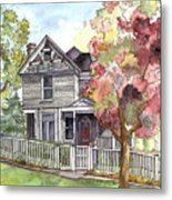 Springtime In The Country Metal Print