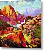 Springtime In The Southwest  Metal Print