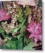 Springtime With Flowers Metal Print