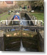 Springwell Lock Rickmansworth Metal Print