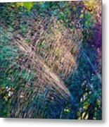 Sprinkler Fun Metal Print