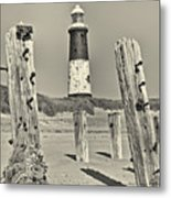 Spurn Lighthouse Metal Print