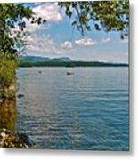Squam Lake In New Hampshire   Metal Print