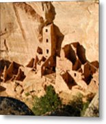 Square Tower Ruin Metal Print