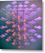 Squared2 Metal Print
