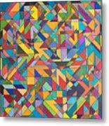 Squark And Lepton Fields Metal Print