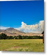 Squaw Butte And Little Butte Metal Print