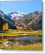 Squaw Valley In The Fall Metal Print