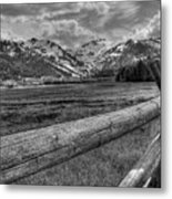 Squaw Valley Usa Olympic Valley California Metal Print
