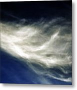 Squid Cloud Metal Print