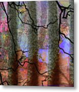 Squiggles And Lines Metal Print
