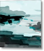 Squint To See Paradise Metal Print