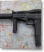 Sr-2mp Submachine Gun Metal Print