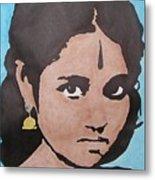Sri Mata Metal Print