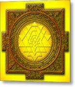 Sri Yantra Metal Print