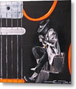 Srv - Stevie Ray Vaughn Metal Print