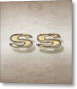 Super Sport Emblem Metal Print