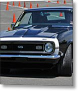 Ss On Autocross Course Metal Print
