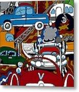 Ss Studebaker Metal Print by Rojax Art