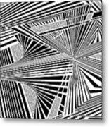 Ssenkcalbot Metal Print