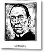 St. Adolf Kolping - Jladk Metal Print