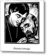 St. Aloysius Gonzaga - Jlalg Metal Print