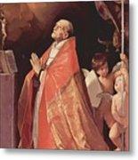 St Andrew Corsini In Prayer 1635 Metal Print