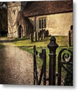 St Andrews At Chaddleworth Berkshire Metal Print