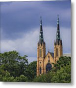 St Andrews Catholic Church Roanoke Virginia Metal Print