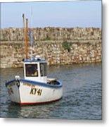 St Andrews Harbour Metal Print