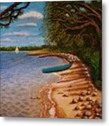 St Andrews State Park Panama City Florida Metal Print