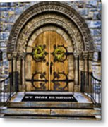 St Ann Church Metal Print