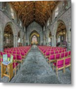 St Asaph Cathedral Metal Print