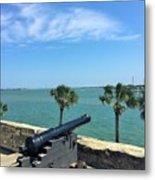 St. Augustine Historical Fort Metal Print