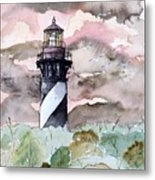 St Augustine Lighthouse Metal Print