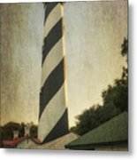 St Augustine Lighthouse Dsc00390_16 Metal Print